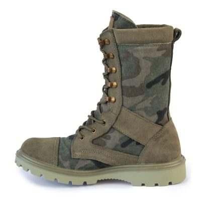 Ботинки кожаные облегченные с высокими берцами AZIMUTH